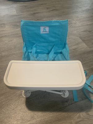 Portable booster seat / high chair for Sale in Arlington, TX