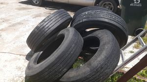 Semi truck/trailer tires for Sale in Maxwell, TX
