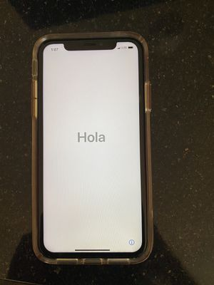 iPhone XR 64 gb (Screen brand new but blacks out) for Sale in Washington, DC