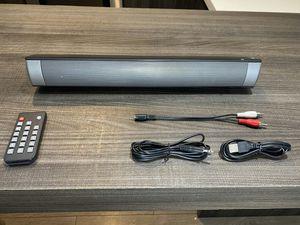 Brand new bluetooth wireless speaker soundbar with remote control great sound for Sale in Davie, FL