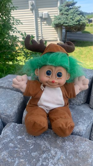 Collectible troll doll *Rudy* (Russ toys) for Sale in Carbonado, WA