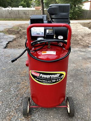 Coleman 21 Gallon Air Compressor for Sale in Cypress, TX