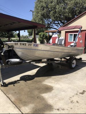13 Ft Valco Aluminum boat needs to go! for Sale in Redlands, CA