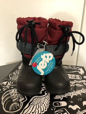 New Kids size 10 snow boots. New. Unused. for Sale in San Jose, CA