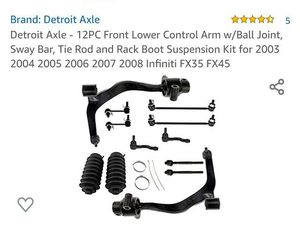 11pc Front Lower Brand New Parts For Infiniti FX 35 for Sale in Charlotte, NC