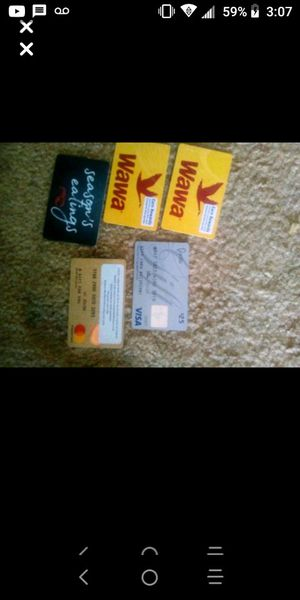 95$ worth of gift cards for best offer for Sale in Clearwater, FL
