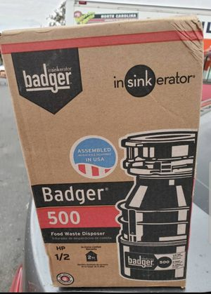 Badger Garbage Disposal for Sale in Los Angeles, CA