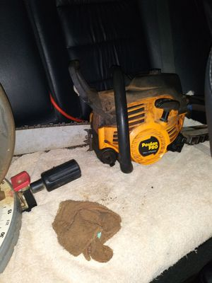 Poulan Pro gas chainsaw for Sale in Shelby, NC
