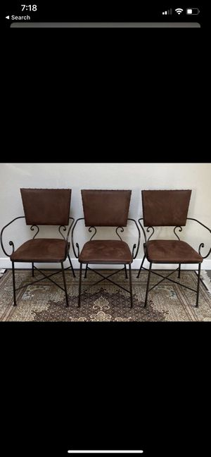 4 chairs for Sale in Menlo Park, CA