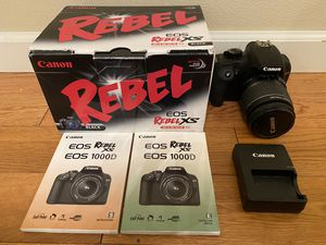 Canon Rebel eos digital camera for Sale in Redmond, WA