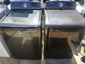Samsung Stainless Washer and Dryer Set for Sale in Los Angeles, CA