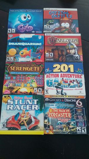 8 PC games for Sale in Bakersfield, CA