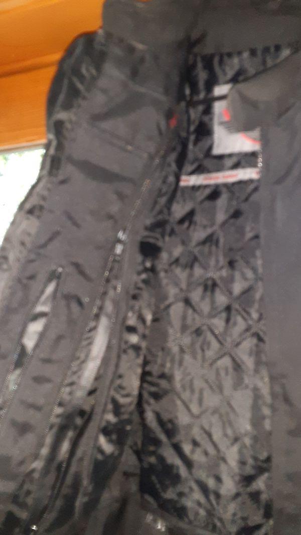 Viking motorcycle jacket is M