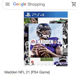 Madden 21 PS4 for Sale in Los Angeles, CA