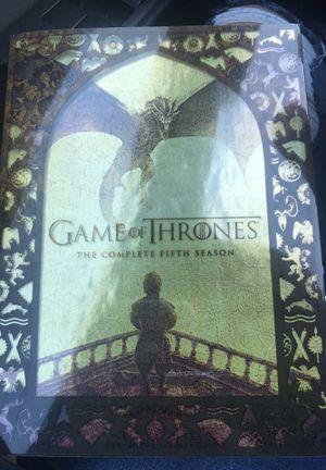 Game of thrones season 5 for Sale in McGaheysville, VA