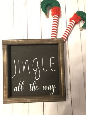 New Christmas farmhouse wood sign for Sale in Jacksonville, FL