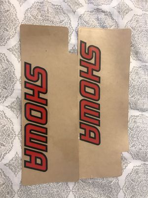 Showa Shocks Dirtbike Front Fork Sticker for Sale in San Diego, CA