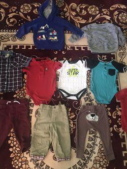 Size 12 Months Boys Bundle 10 Pieces Total for Sale in San Bernardino,  CA