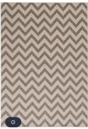 8x10 Mocha Zigzag Rug for Sale in Beverly Hills, CA