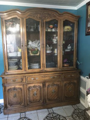 Wooden kitchen cabinet for Sale in Durham, NC