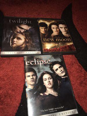 Twilight saga movies for Sale in Everett, WA