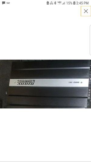 Sundown audio sae 1500 watts d for Sale in Rio Linda, CA