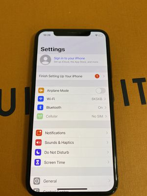 iPhone X 64GB Fully Unlocked for Sale in Rockville, MD