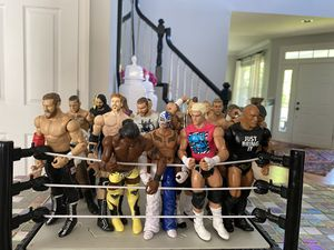 Wwe wrestling figures for Sale in Riverwoods, IL