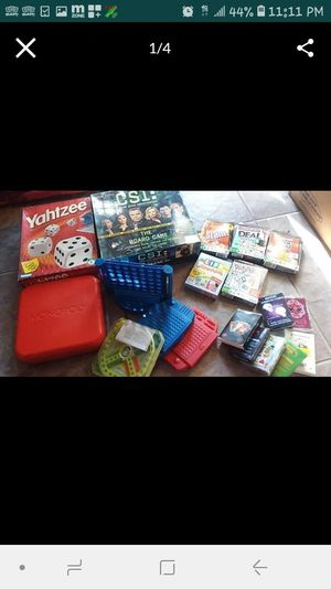 Huge lot of board and card games for Sale in Kissimmee, FL