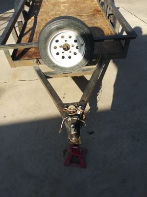 4x8 trailer with NV title on ✋ for Sale in Las Vegas, NV