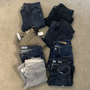 8 pairs of waist size 29 and 30 for Sale in Thornton, CO