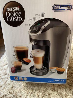 DeLonghi Nescafé Dolce Gusto esperta 2 coffee, cappuccino and espresso maker for Sale in Chicago, IL