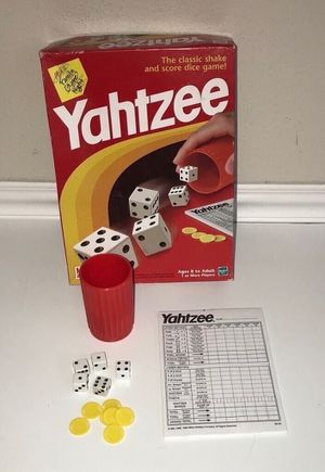 Yahtzee Game Complete for Sale in Port St. Lucie, FL
