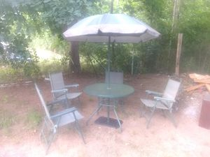 Outdoor patio furniture for Sale in Six Mile, SC