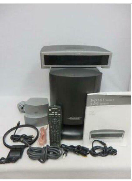 BOSE 3-2-1 Series ll Powered Speaker System
