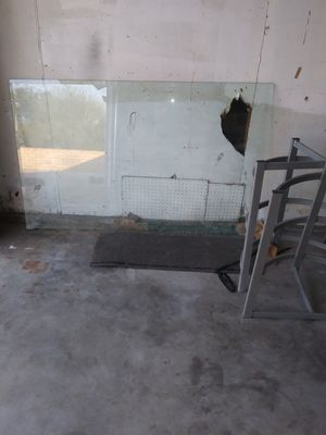 free glass table for Sale in Fontana, CA