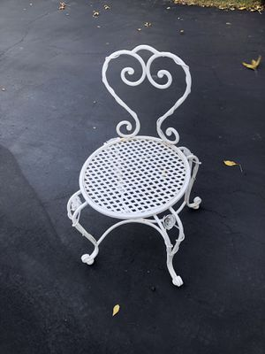 French provincial outdoor chair for Sale in Bartlett, IL