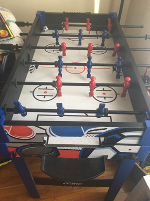Air hockey and foosball table for Sale in Rocky River, OH