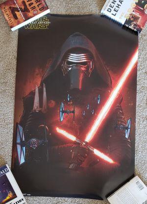 Star Wars Kylo Ren Poster for Sale in Alexandria, VA