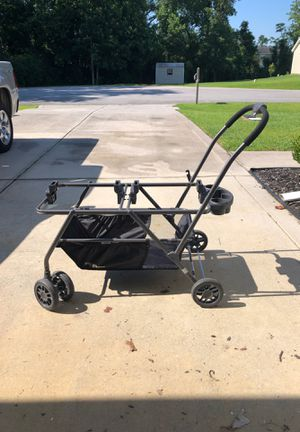 Twin Stroller JOOVY Twin Roo+ Double Car Seat Stroller for Sale in Jacksonville, NC