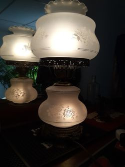 Vintage GWTW style 2 Way Parlor Lamp for Sale in Pittsburgh,  PA