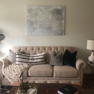 Gently Used- Light Beige - Ashley Furniture Couch for Sale in Los Angeles, CA