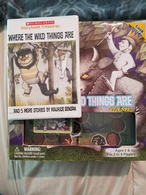 where the wild things are dvd and game combo for Sale in San Antonio, TX