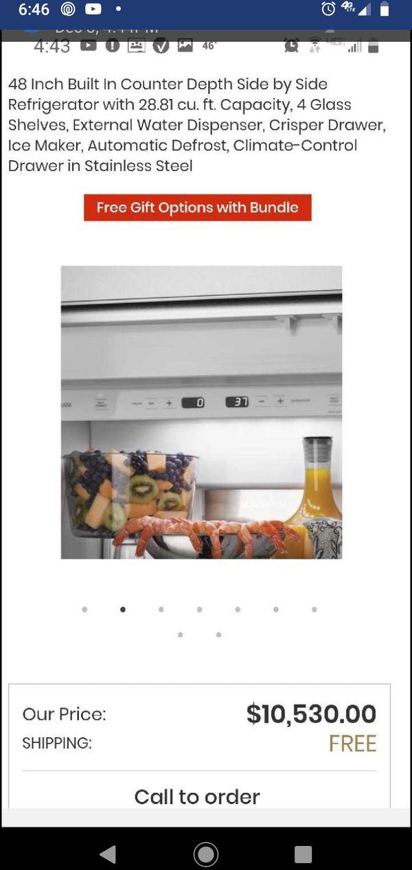 48 inch counter depth refrigerator