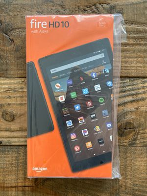 "New/Sealed Fire Tablet HD 10 With Alexa (Newest 10"" Amazon Tablet) + Gift Receipt for Sale in Lakeville, MN"