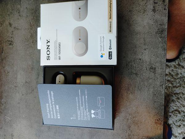 Sony WF 1000XM3 BRAND NEW