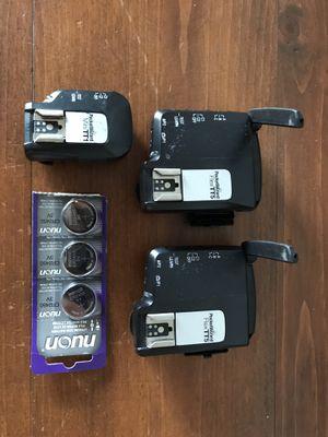 Pocket Wizard Remote flash triggers - Flex TT5 x2 & mini TT1 for Sale in San Diego, CA