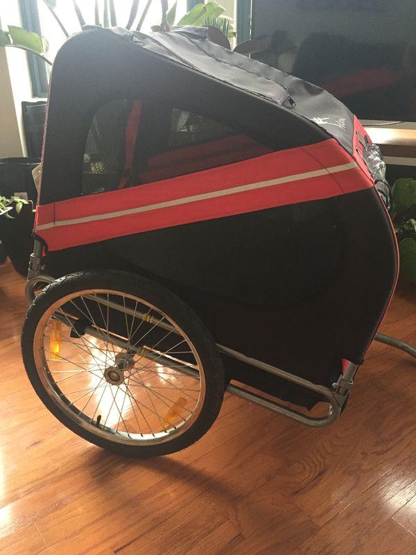 Aosom Elite Dog bike trailer/stroller