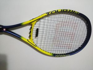 Wilson Tour 110 Titanium Tennis Racket with Power Bridge, Strung & Ready, made in USA for Sale in Norwalk, CT