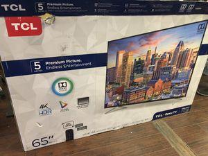 TCL Roku 65 inch 4K TV 65S517 for Sale in Altadena, CA
